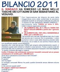"""Manifesto """"Il Popolo di San Sebastiano"""""""