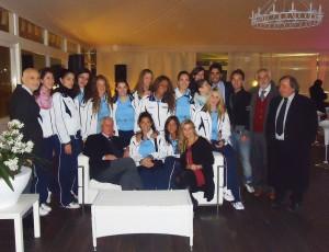 le atlete della villa icaro al -Tiffany Bistrot-