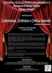 master critica teatrrale LOCANDINA_master 2012