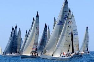 Tre Golfi barche in regata