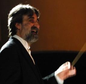 Peppe Vessicchio in un suo concerto al Trianon