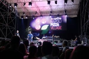 Il palco del Napoli Pizza Village