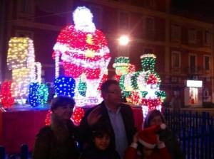 Giorgiano+con+il+Babbo+Natale
