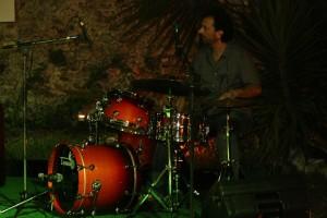 Leonardo De Lorenzo alla batteria
