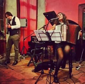 Mario Romano con Dolores Melodia al Zurzolo Teatro Live