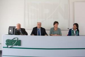Tavolo dei relatori della presentazione (1)