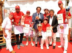 assessore sommese premia i vincitori del mondiale