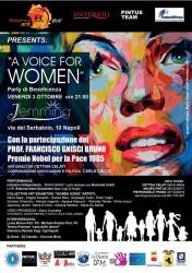 Locandina a Voice for Women
