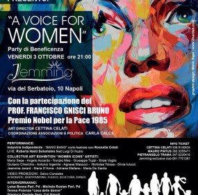 Locandina a Voice for Women