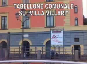 TABELLONE SU VILLARI