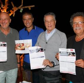 C.Bisio, A. Pecoraro Scanio R.Pozzetto e S.Miccu con la petizione Unesco