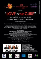 Locandina Love is The Cure