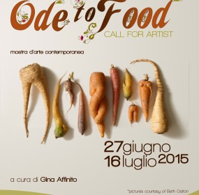 Ode to food - locandina