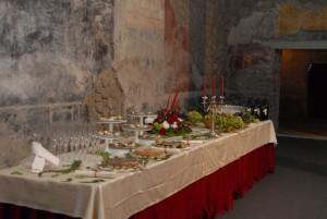 Mensa tipica antica Pompei Villa dei Misteri (2)