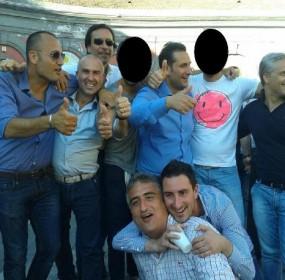 1. antonio silvano - con Fiengo in pIaza Libertà il giorno della vittoria alle comunali