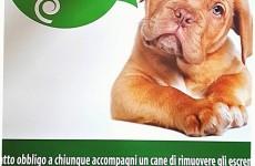 tolleranza zero deiezioni canine san giorgio a cremano