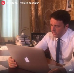 Renzi a cittadino, viva Salvini? Contento tu....