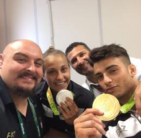 dario romano - judo - rio de janeiro - fabio basile e odette giuffirda medaglie olimpiche - ciccio bianchessi