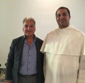 Sindaco e Padre Alessio