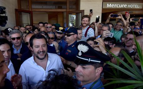 ++ Migranti:Salvini,stop Sicilia campo profughi d'Europa ++