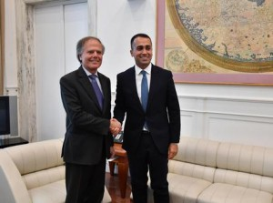 Di Maio takes office in the Foreign ministry